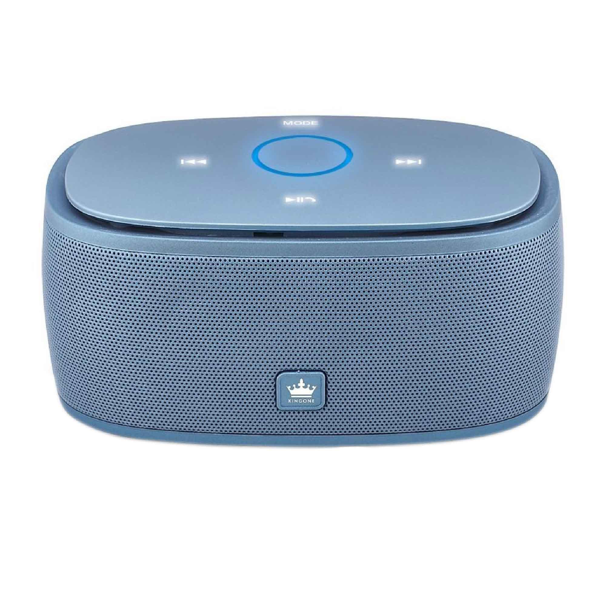 ลำโพงบลูทูธ 金冠 Kingone K5 Bluetooth Speaker ลำโพงพกพาไร้สาย เบสแน่น - น้ำเงิน