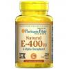 Puritan Vitamin E-400 iu 100% Natural / 250 Softgelsวิตามินอีในจากธรรมชาติ 100% ปลอดภัยสูง รับประทานง่าย ดูดซึมได้ดีกว่าในรูปซอฟเจล (ไซส์ใหญ่ คุ้มกว่า)