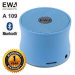 ลำโพง Bluetooth Speaker ของ EWA A109 - สีฟ้า