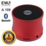 ลำโพง Bluetooth Speaker ของ EWA A109 - สีแดง