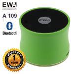 ลำโพง Bluetooth Speaker ของ EWA A109 - สีเขียว