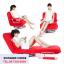 เก้าอี้ปรับนอน เก้าอี้โซฟา รุ่น OBED สีแดง thumbnail 1