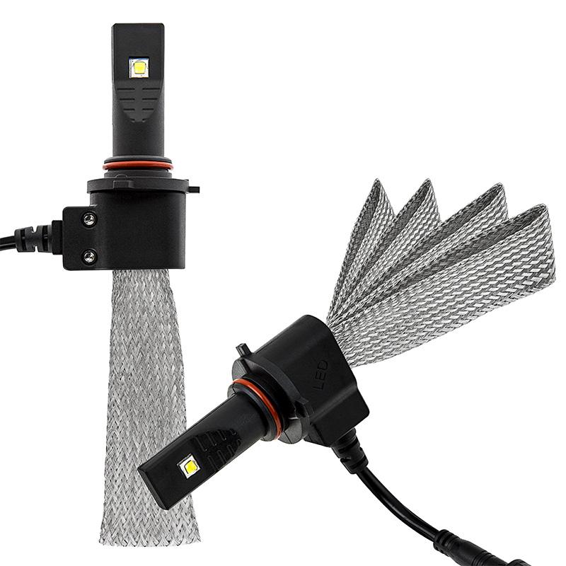 ไฟหน้า LED ขั้ว HB3(9005) Cree 2 ดวง 40W Turbo No Fan