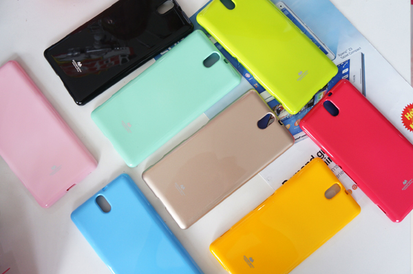 เคสยาง Sony Xperia C5 Ultraของ Mercury Goospery Jelly Case