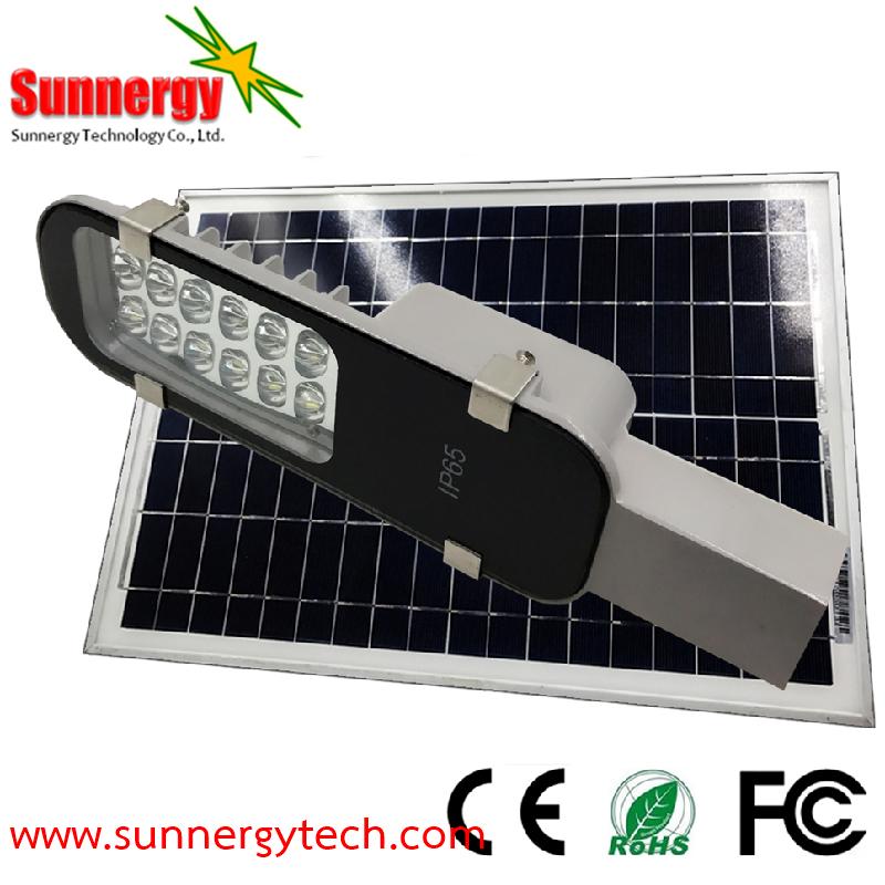 โคมไฟ LED Solar Street Light ขนาด 12W รุ่น STCLF-SLS12W