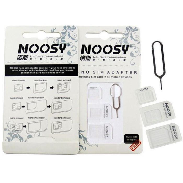 ตัวแปลงซิม sim adapter noosy ราคา 69 บาท