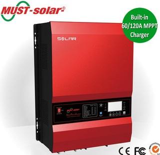 Inverter (หม้อแปลงไฟฟ้า) รุ่น PV35-10K DC48V MPPT controller 120A
