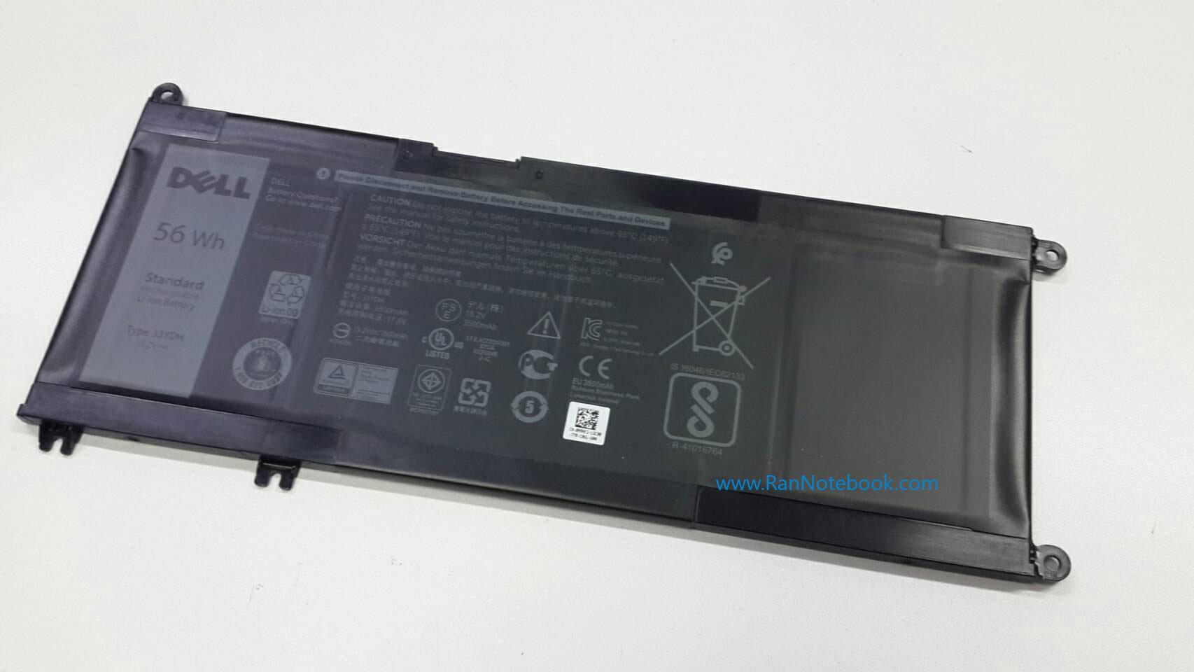 Battery Dell Latitude 3480 3580 3380 แบตแท้ ประกัน ศูนย์ Dell