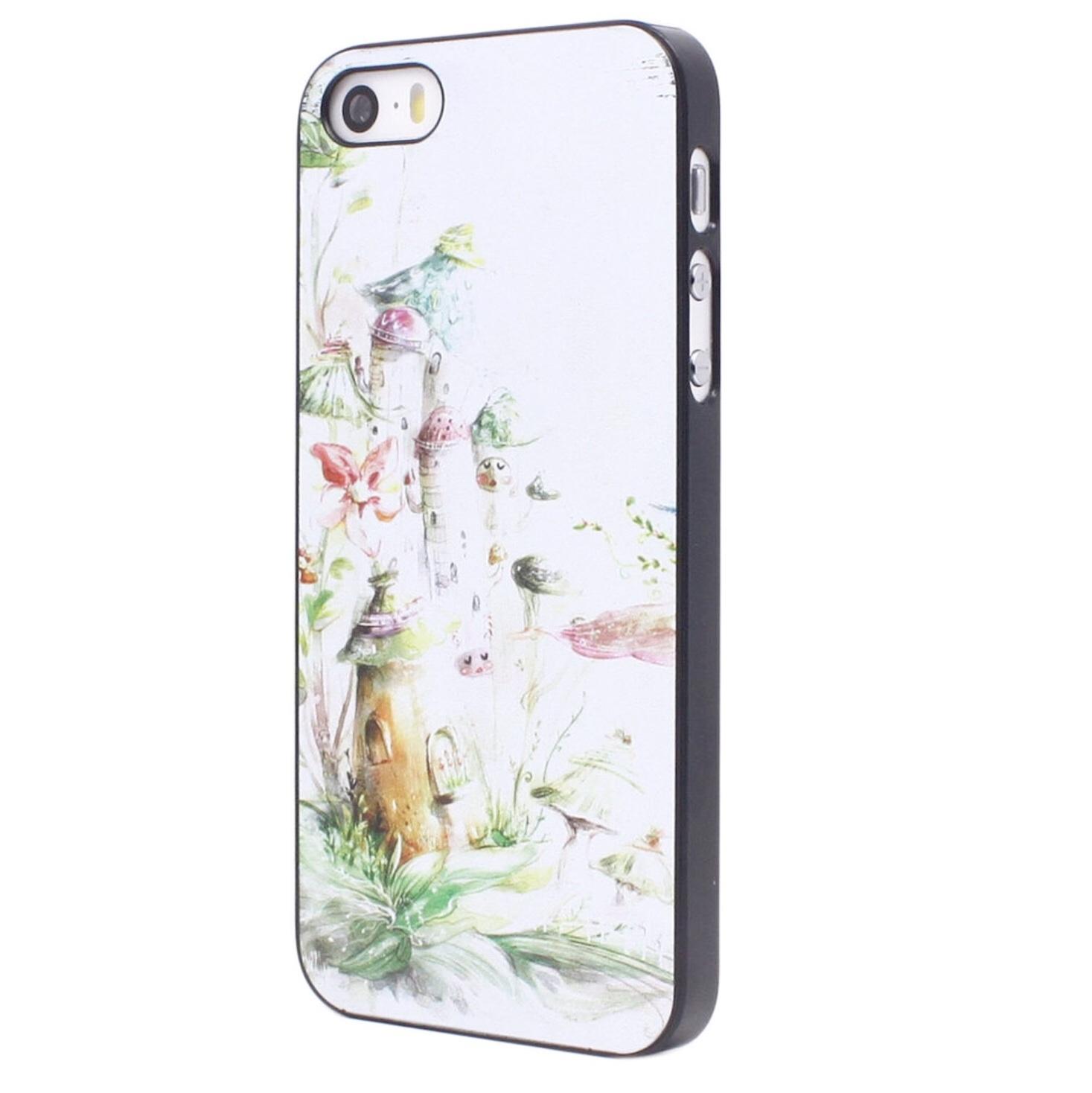 *Clearance Sale* Case iPhone 5/5s Watercolor Paint บ้านน้อยในป่า