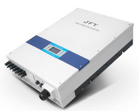 เครื่องแปลงไฟแบบเชื่อมต่อสายส่ง (Grid Tie Inverter) - JFY 3 เฟส กำลังไฟฟ้าเอาท์พุท 5KW-30KW