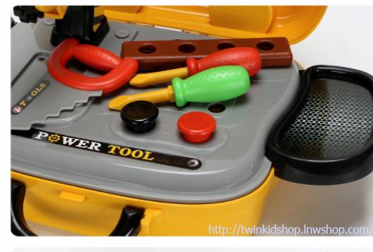 ชุดกระเป๋า ชุดเครื่องมือช่าง ชุด 31 ชิ้น Deluxe Kids Tool Set in Pakistan