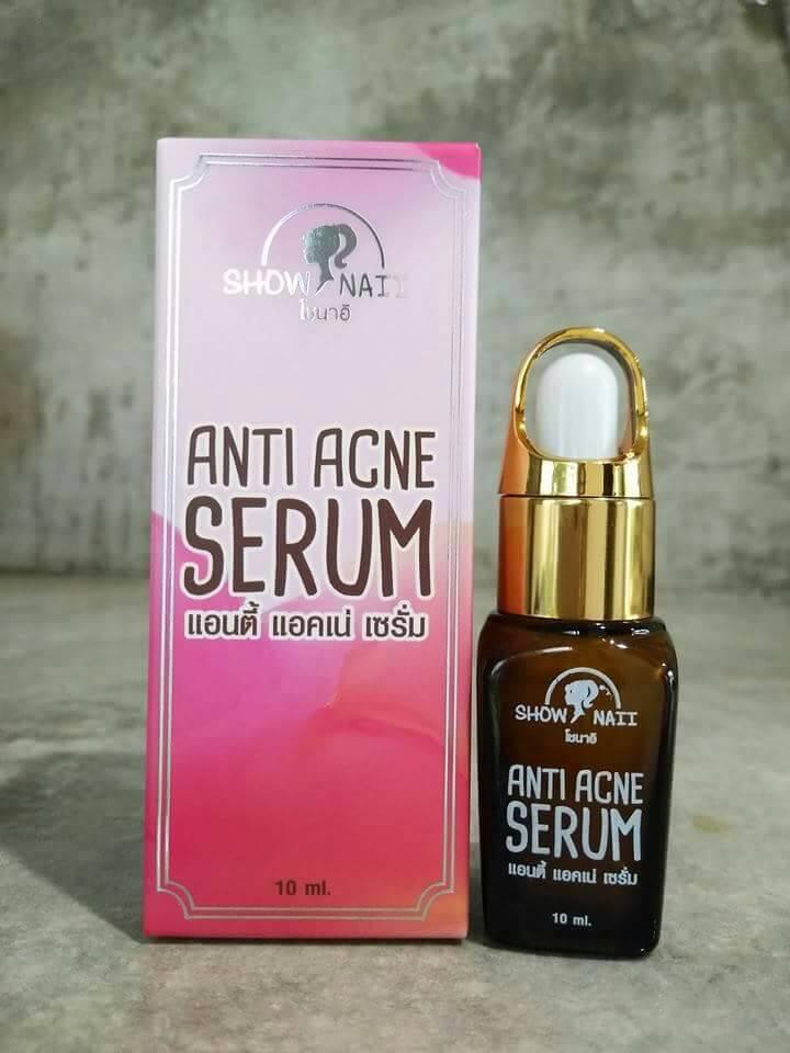 โซนาอิ แอนตี้ แอคเน่ เซรั่ม Show Naii Anti Acne Serum เซรั่มปราบสิว ของแท้