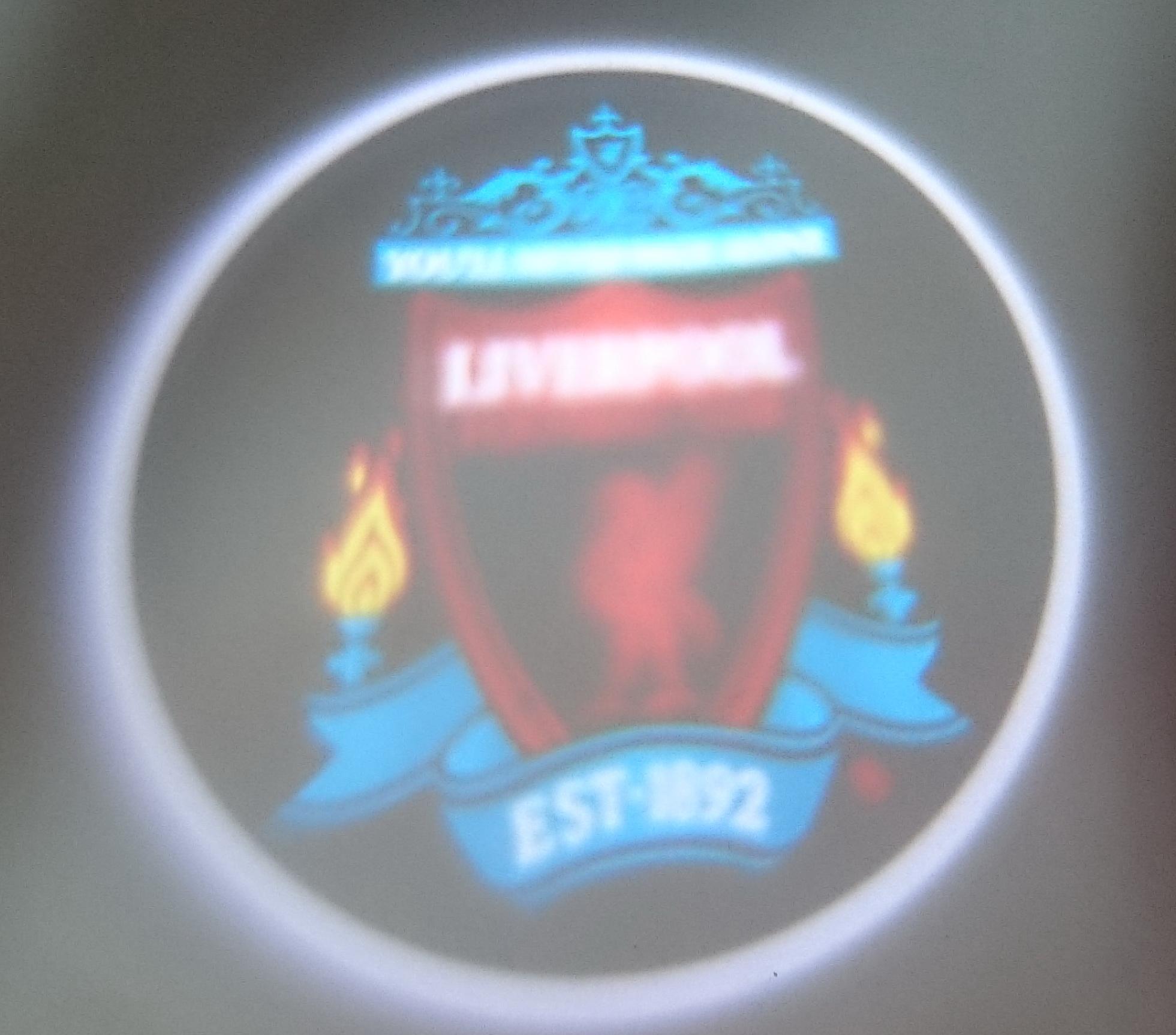 ไฟโลโก้ส่องพื้น Liverpool