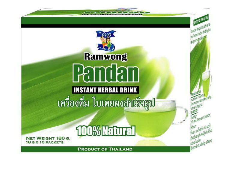 ใบเตยผงสำเร็จรูป (PANDAN INSTANT HERBAL DRINK) ราคา 95.00 บาท