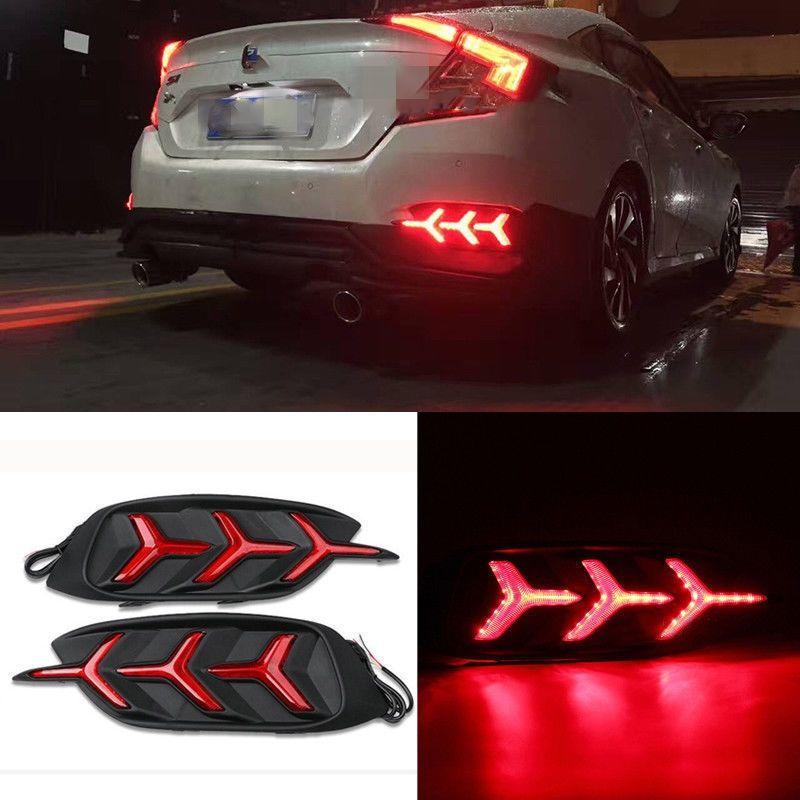 ไฟ LED ทับทิมท้าย Honda Civic 2016 (FC) V.3