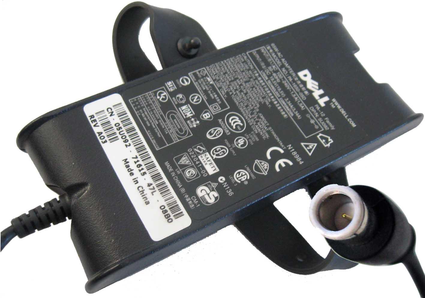 Adapter/ที่ชาร์จโน๊ตบุ๊ต /Dell 19.5V 3.34A 65W /ของแท้ประกันศูนย์ Dell on-Site Service
