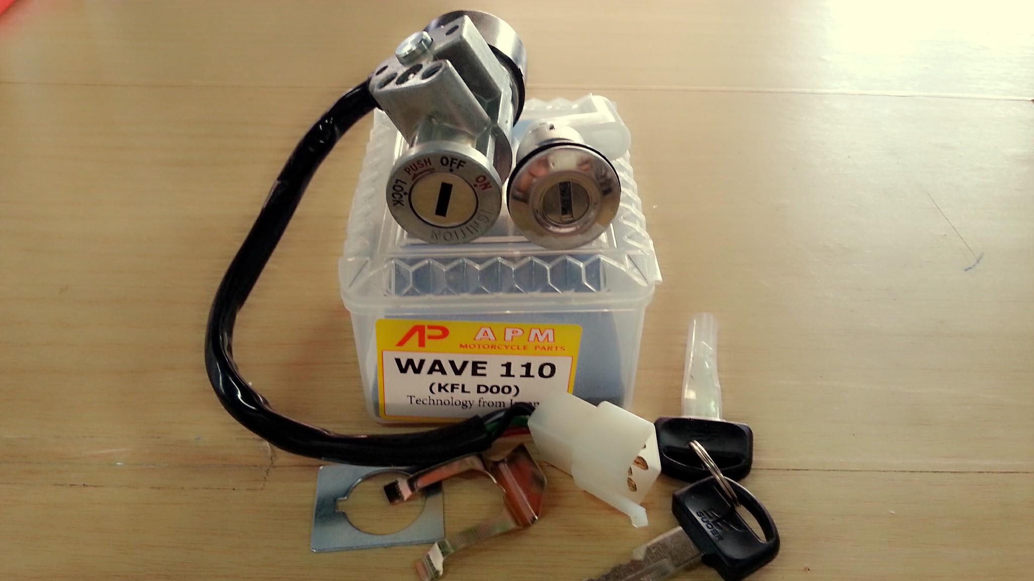 สวิทช์กุญแจ Wave110 ปี 2000-2004
