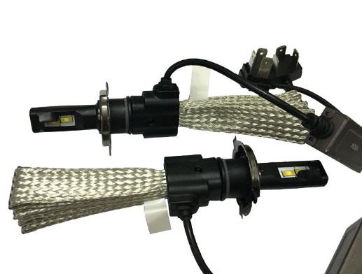 ไฟหน้า LED ขั้ว H4 Cree 2 ดวง 40W No Fan รุ่น F2