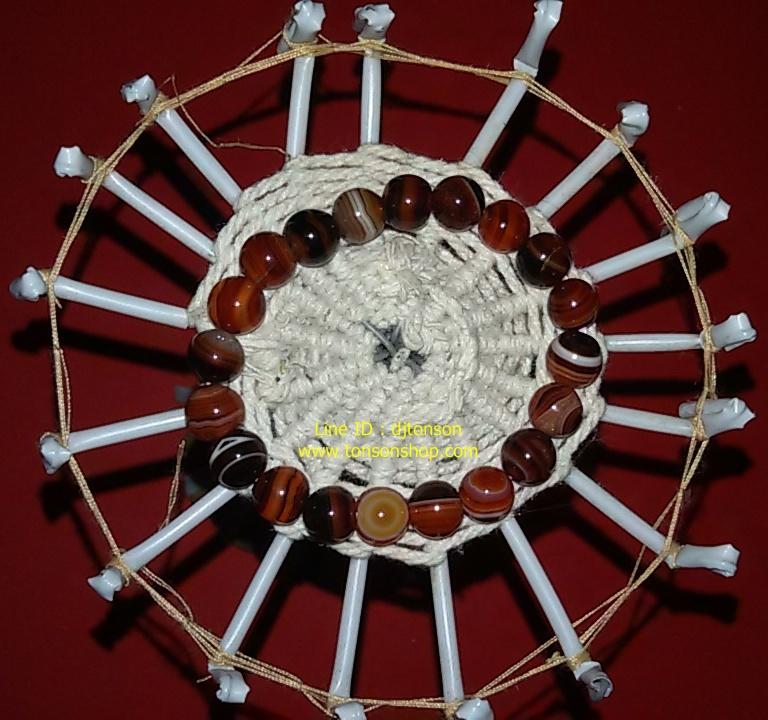 อาเกต (Agate) หรือ หินโมราสีน้ำตาล หินมงคลปกป้อง คุ้มครอง คลายเครียด อารมณ์ดี มั่งคั่ง ร่ำรวย