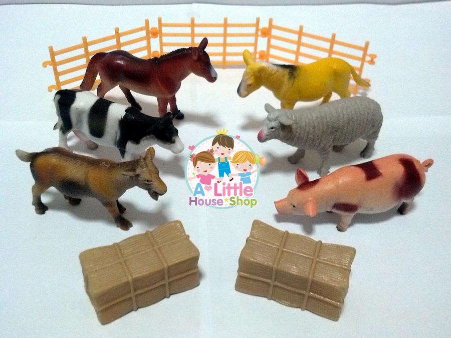 ชุดสัตว์ฟาร์ม 6 ตัว