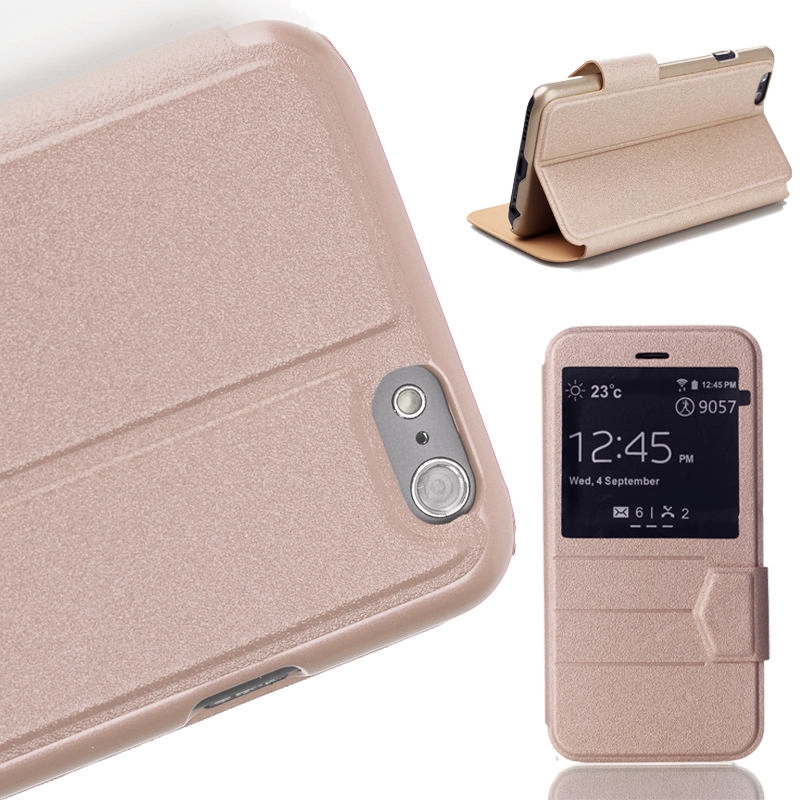 *Special Sale 35%* iPhone 6 Stand Cover แบบฝาปิด สีทองเมทาลิค