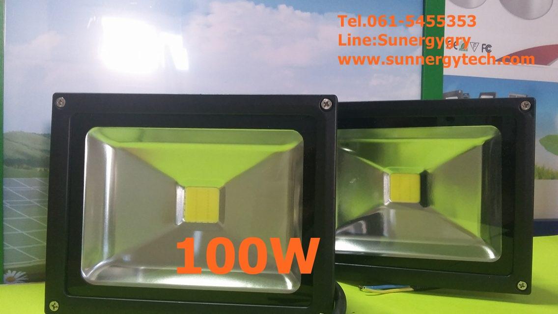 หลอดไฟ LED-FL ขนาด 100W 220V 6000K