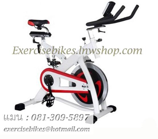 จักรยานออกกําลังกาย ระบบสายพาน Spin Bike แบบมีโช้ค รุ่น 888