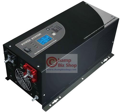 เครื่องแปลงไฟรถเป็นไฟบ้าน Hybrid Solar Pure Sine Wave - HR Series รุ่น 2000W