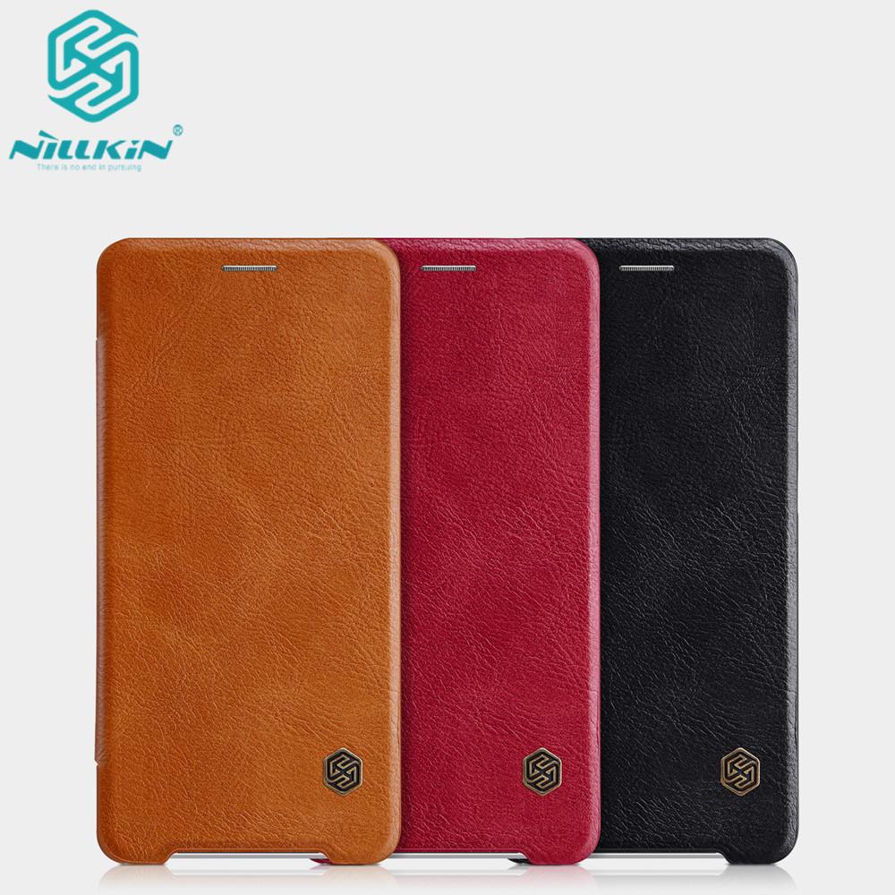 เคสฝาพับ Xperia XZ2 ของ Nillkin Qin Leather Case