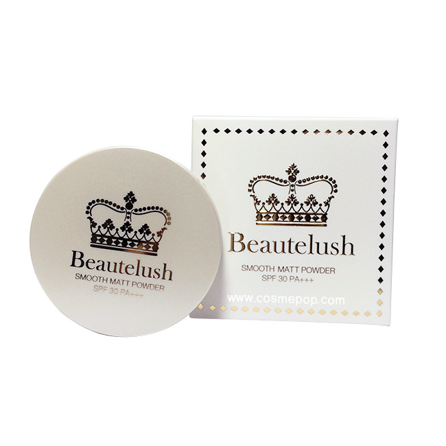 Beautelush Smooth matt powder spf 30 PA+++ บิวตี้ลัช แป้งเจ้าหญิง แป้งผสมรองพื้นเนื้อเนียนระดับ HD