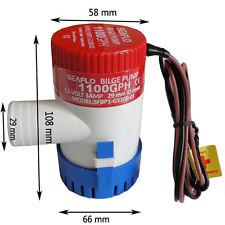 โซล่าปั๊ม (Solar Pump) ยี่ห้อ Bilge ขนาด 1100GPH 24V