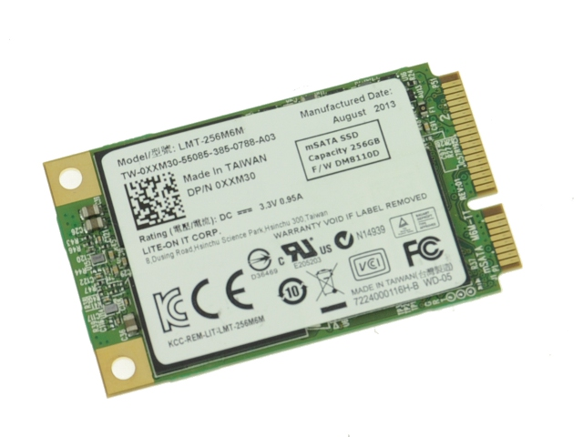DELL MSATA SATA SSD 256 GB