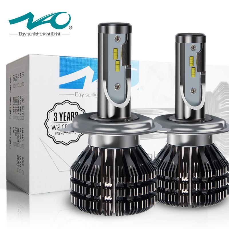 ไฟหน้า LED ขั้ว H4 Smart Light 50W รุ่น V5