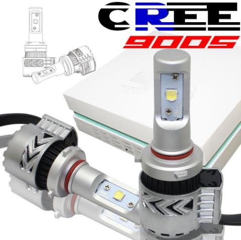 ไฟหน้า LED ขั้ว HB3(9005) Cree 72W รุ่น G8