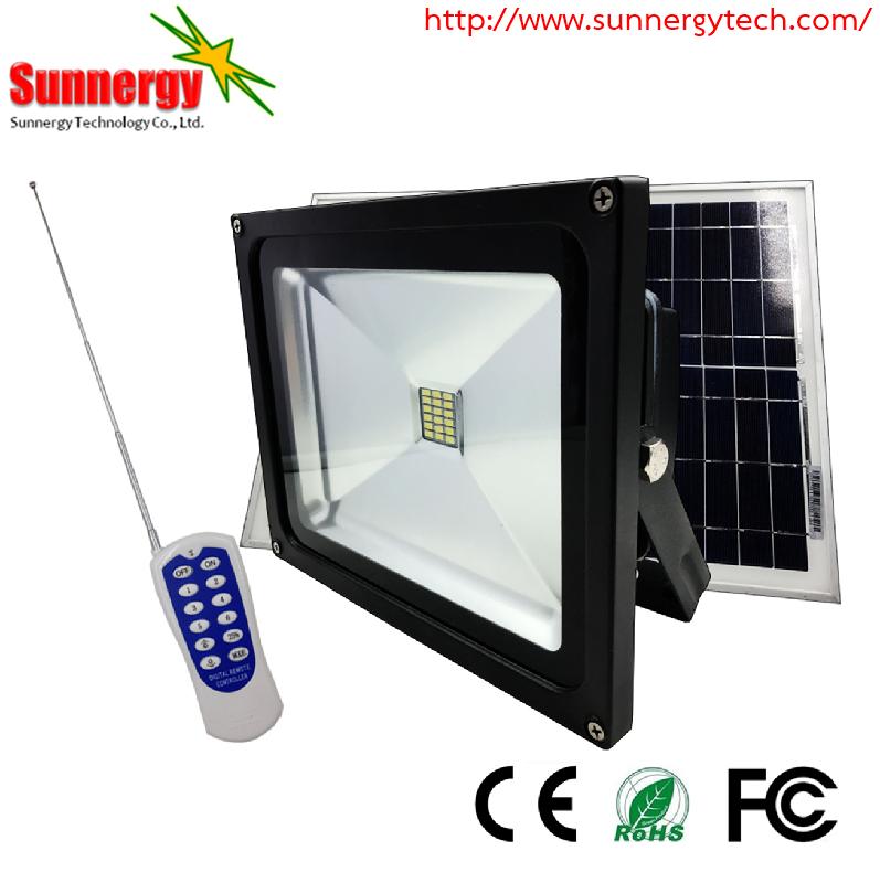 โคมไฟ LED Solar Flood Light ขนาด 10W 12V รุ่น STCLF-TSGS10W3