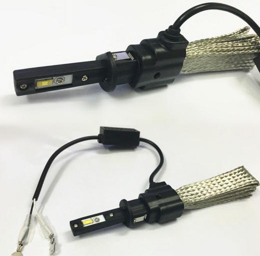ไฟหน้า LED ขั้ว H1 Cree 2 ดวง 40W No Fan รุ่น F2