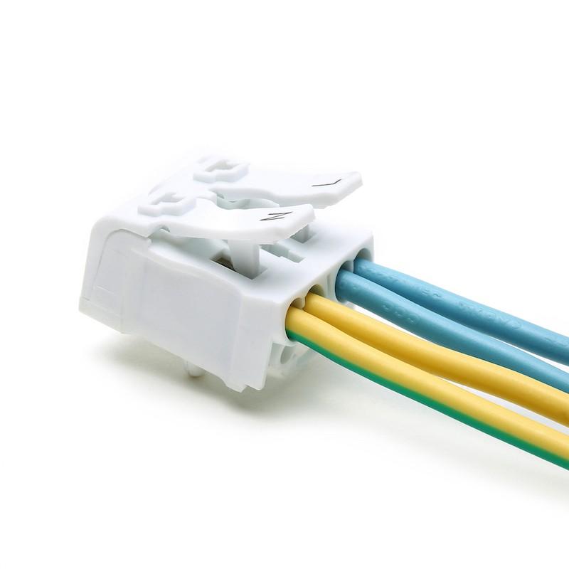 ขั้วต่อสายไฟ เทอมินอลต่อสายไฟ ขั้วต่อสายคอนโทรล ลูกเต๋าเชื่อมต่อสายไฟ 2 ช่อง OOP 923 P02 1 ชิ้น Wire Terminal Block Connector