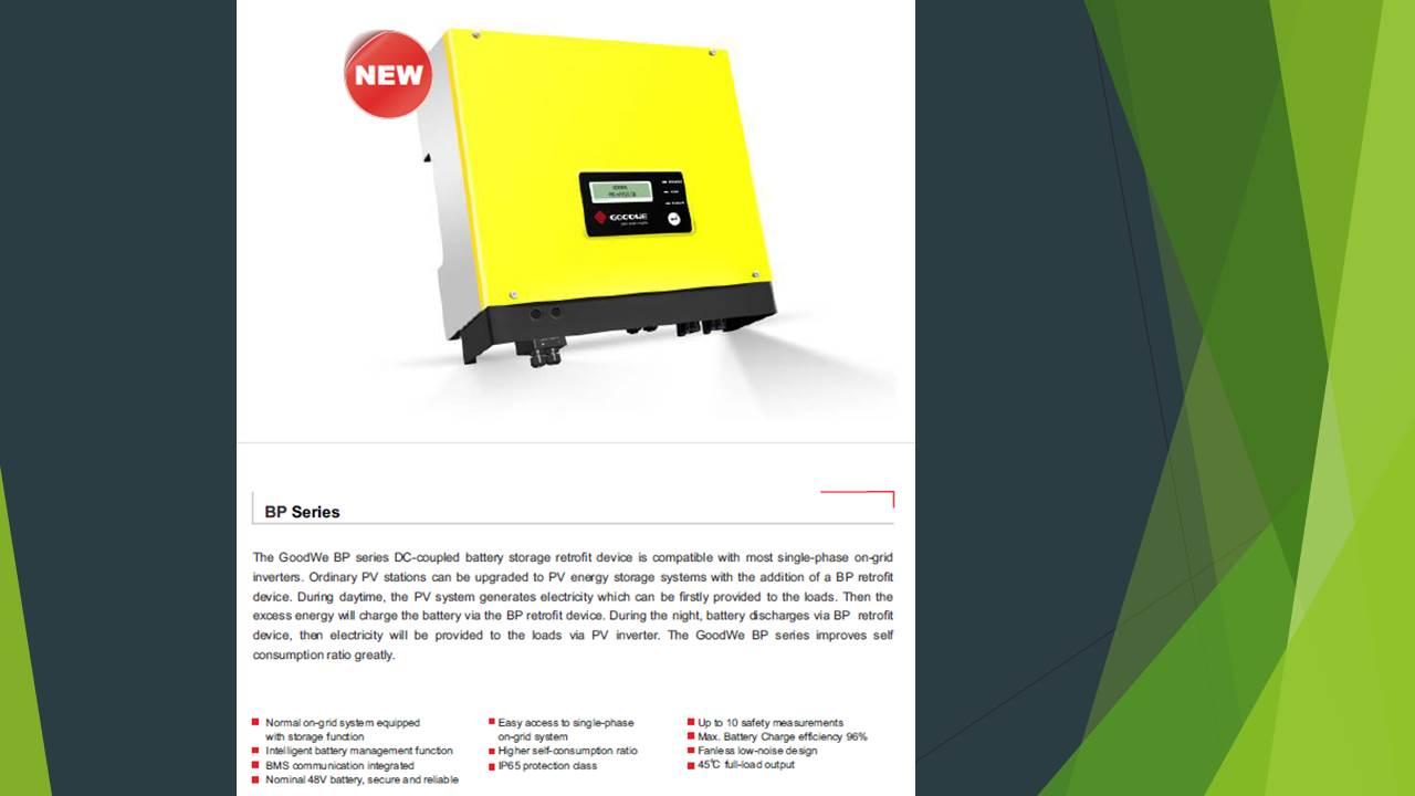 Goodwe inverter GW2500-BP