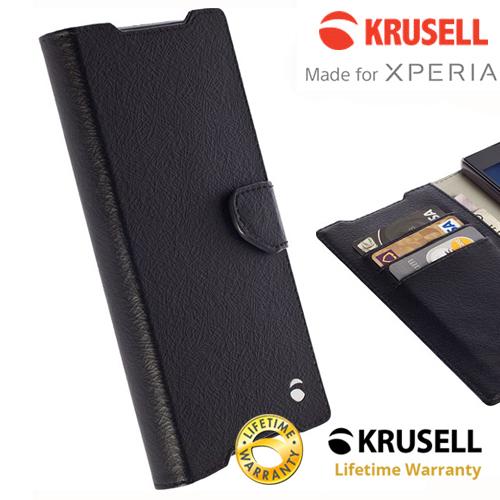 เคสฝาพับ Xperia Z5 Compact ของ Krusell Boras FolioWallet Case