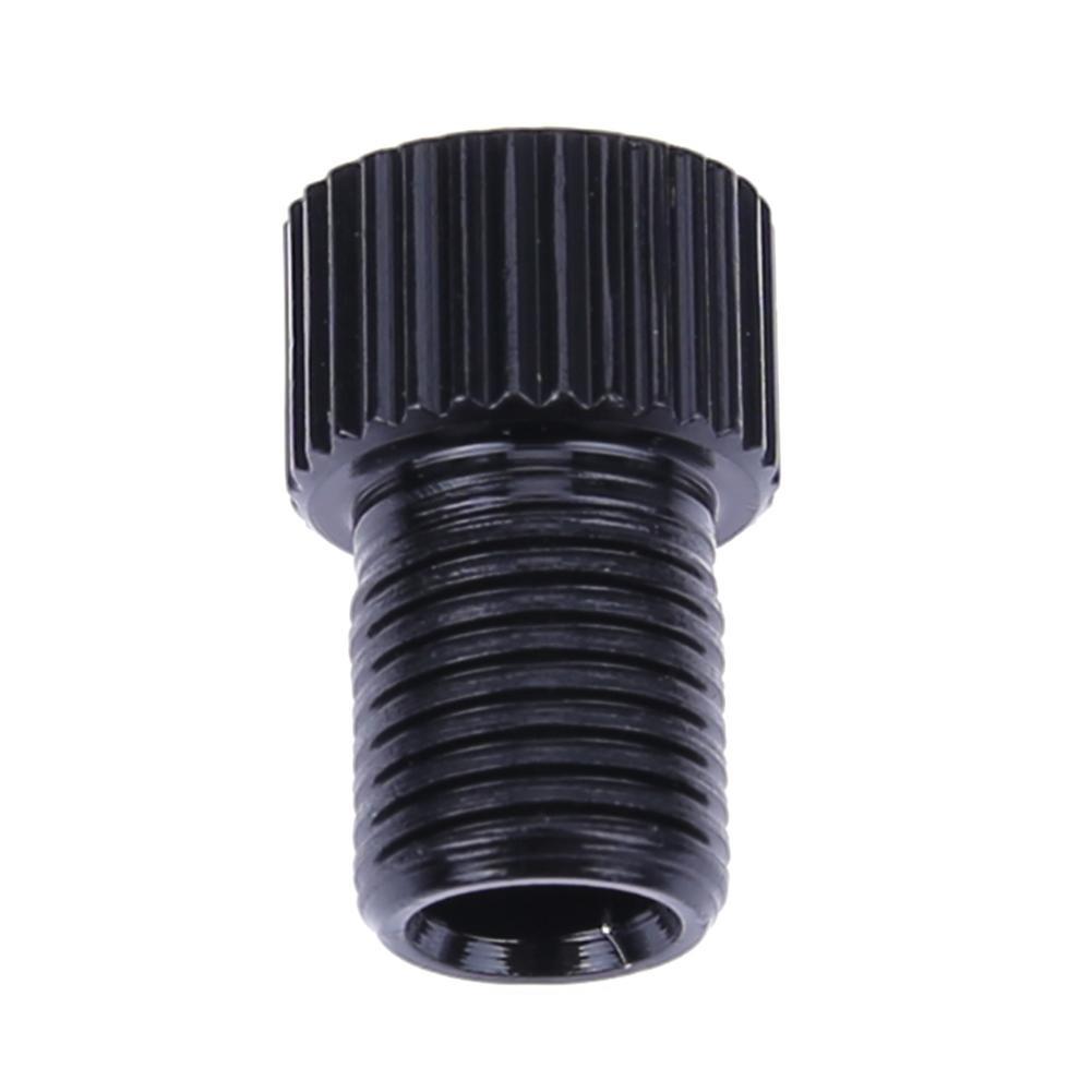 อะแดปเตอร์แปลงหัวสูบลมจุ๊บเล็กแบบเพรสต้า PRESTA F/V เป็น A/V 2 ชิ้น Black PS-BX2