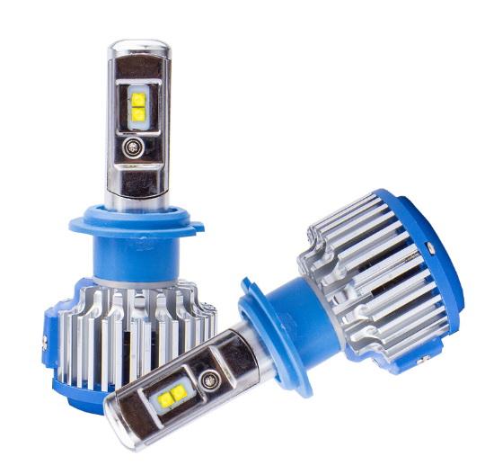 ไฟหน้า LED ขั้ว H7 Cree 35W รุ่น T1