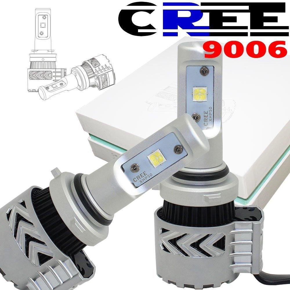 ไฟหน้า LED ขั้ว HB4(9006) Cree 72W รุ่น G8