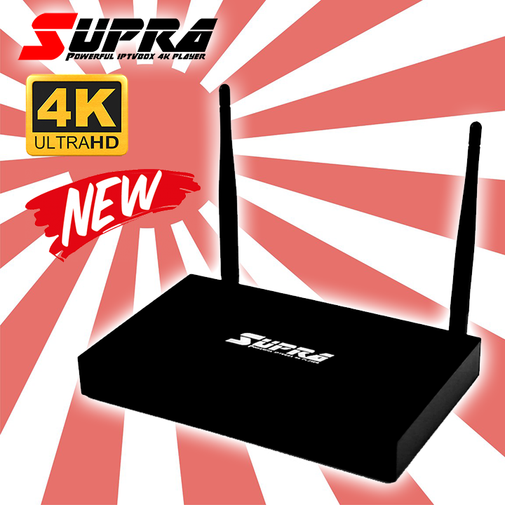 SUPRA - 4K QuadCore2.0 Ram2GB UltraHD แถมฟรี FWIPTV 1เดือน