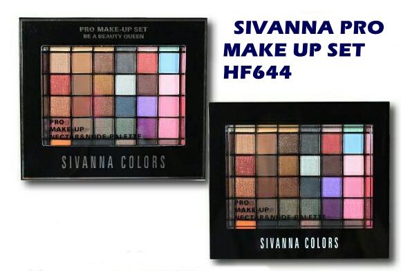 Sivanna Pro Make Up HF644 พาเลทแต่งหน้าครบเซทชุดใหญ่ ของแท้