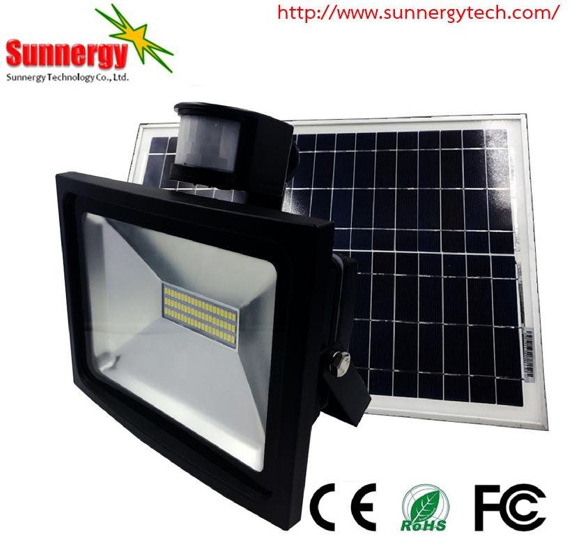 โคมไฟ LED Solar Flood Light ขนาด 30W 18V รุ่น STCLF-TSGS30W2