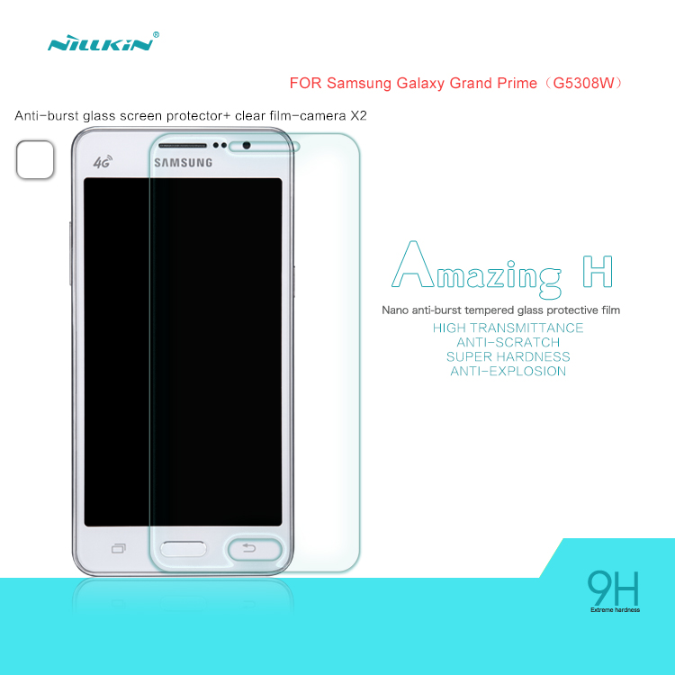กระจกนิรภัยสำหรับ Samsung Galaxy Grand Prime ของ NILLKIN Nanometer Anti-Explosion Tempered Glass Screen Protector