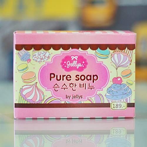 Pure Soap by Jellys สบู่เพียวโซฟ บาย เจลลี่ หน้าใส ผิวสวย ขาวๆ