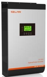 Inverter (หม้อแปลงไฟฟ้า) รุ่น Off Grid 24VDC-2KVA/1600W, 60A MPPT
