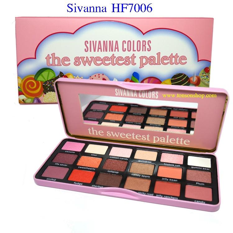 ของแท้ มาใหม่ Sivanna Sweetest,Chocalate Palette HF7006
