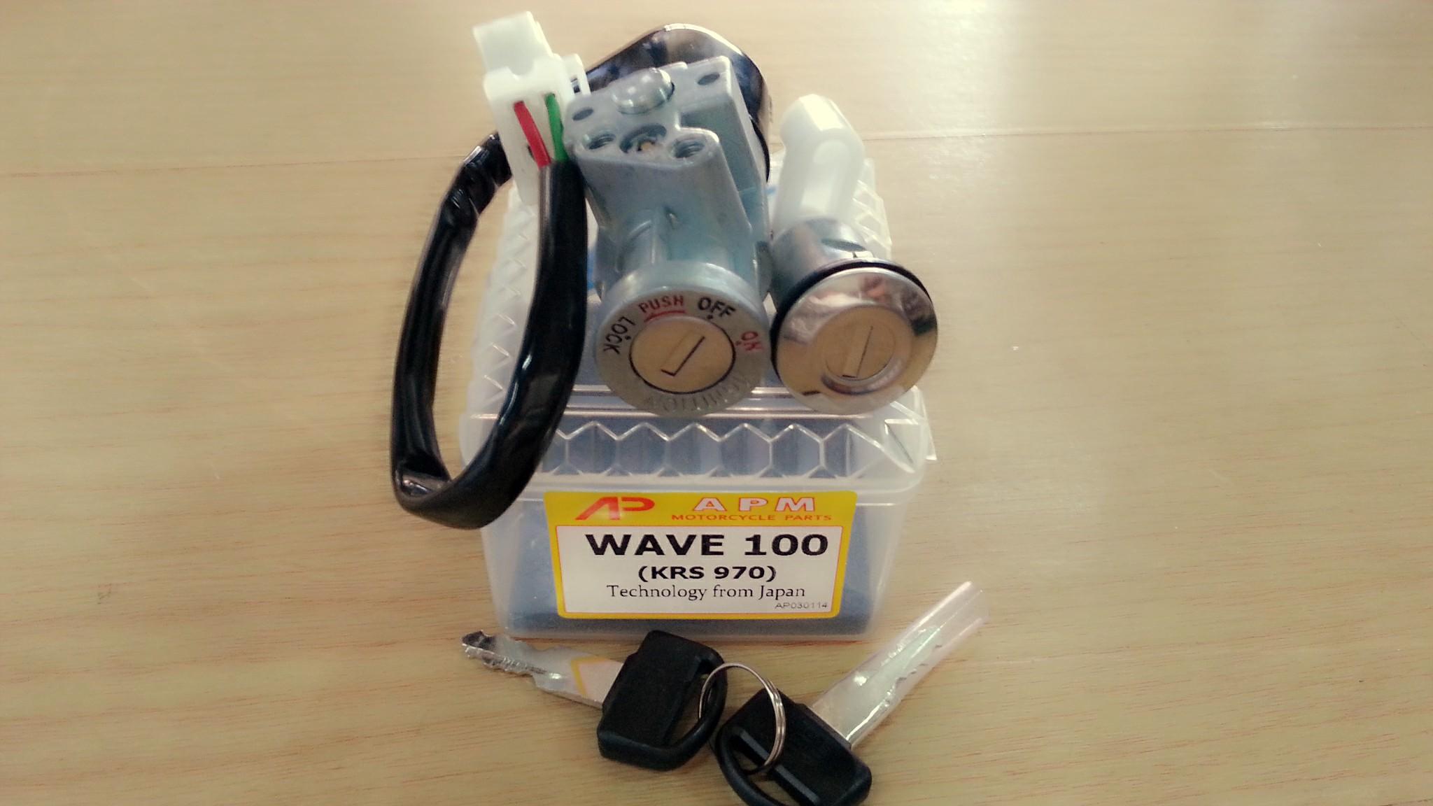 สวิทช์กุญแจ Wave100 เก่า
